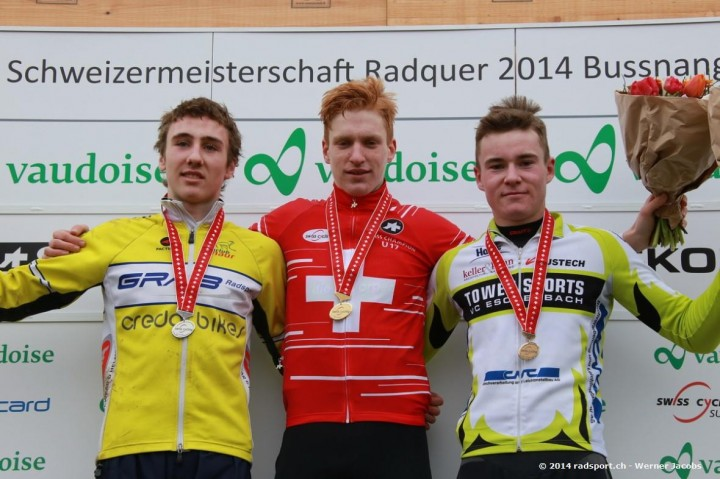 Ein reines RMVZOL in der Kategorie U17: 1. Reto Müller, 2. Nico Niemann, 3. Kevin Kuhn