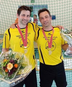 VMC Männedorf Thomas Schneider und Apollon Berdelis
