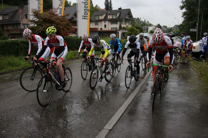 U17-Start zum RMVZOL-Bergrennen Meilen-Hochwacht
