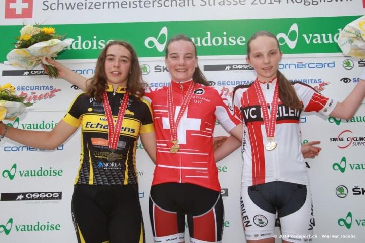 Bronze für Lara Krähemann bei den Frauen U17