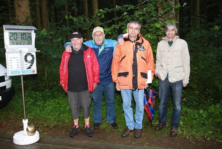 RMVZOL-Verbandsrennen vom 4.6.2014- Jury-Mitglieder: Giaccomo Chiappini, Ernst Gyr, Hubert Draschel, Urban Blöchlinger