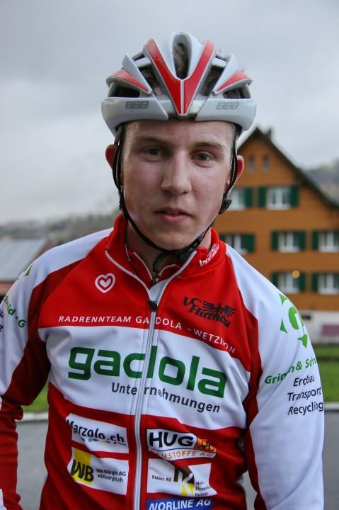 Till Steiger - Sieger des U17-Rennens