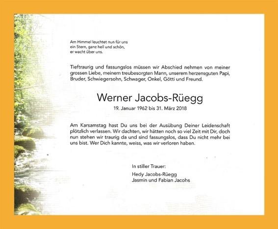 Todesanzeige online Werner